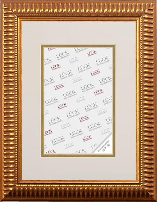 Kunststoffrahmen L678, gold (Galerierahmen)