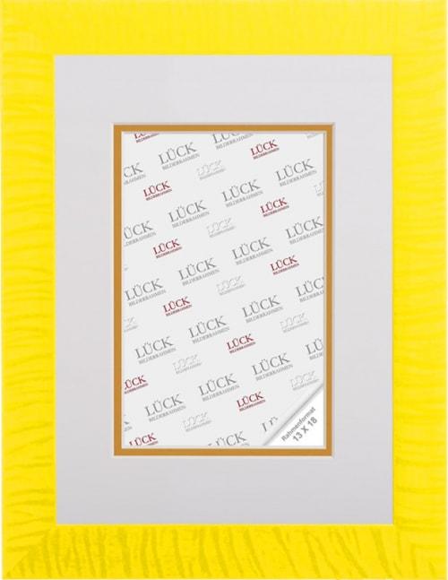 Kunststoffrahmen L483, gelb (Wandalbum)