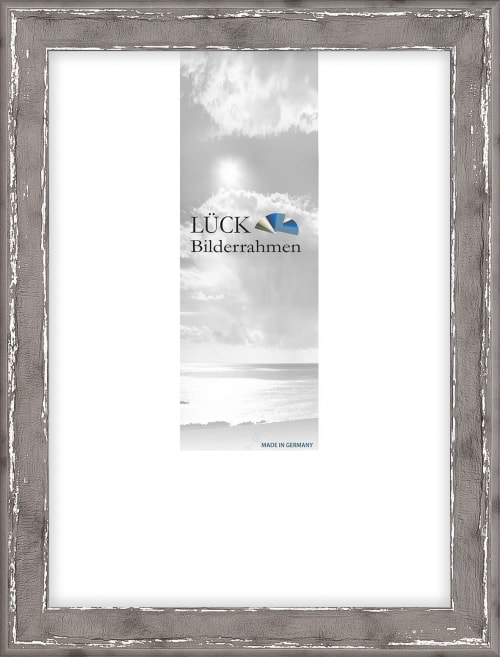 Kunststoffrahmen L973 'Augsburg', titan silber (Wandalbum)